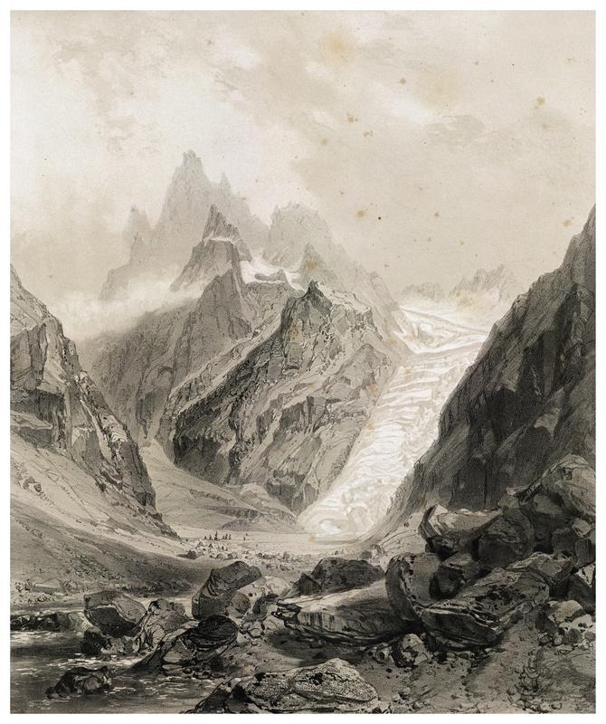 glaciers et réchauffement climatique