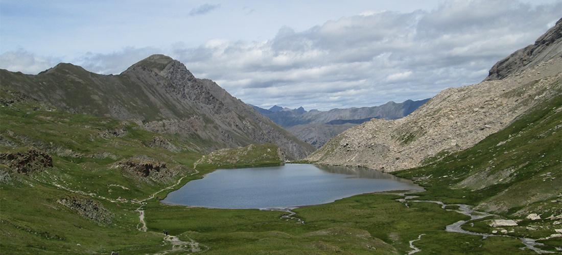 Lac dans le Queyras