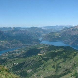 Panorama depuis le sommet du Morgonnet